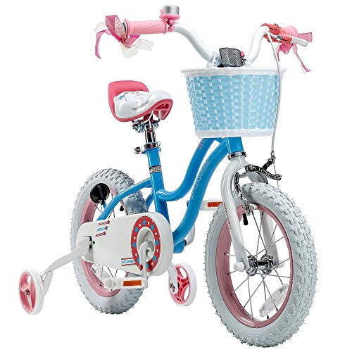 Stargirl Girl's Bike, 16 inch Wheels, Blue