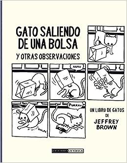 GATO SALIENDO DE UNA BOLSA Y OTRAS OBSERVACIONES: Jeffrey Brown: 9788415724698: Amazon.com: Books