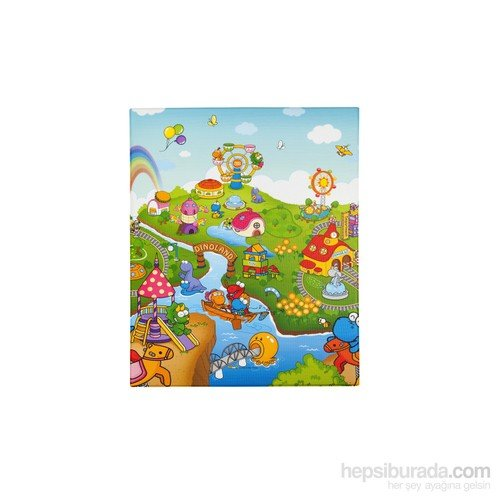 Serra Baby Dino Land Game Mat of small size 100x140cm - 11mm thickness by Serra Baby