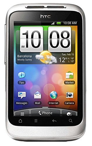 HTC Wildfire S Unlocked GSM Touchscreen Android Smartphone - - Htc Flip Phone
