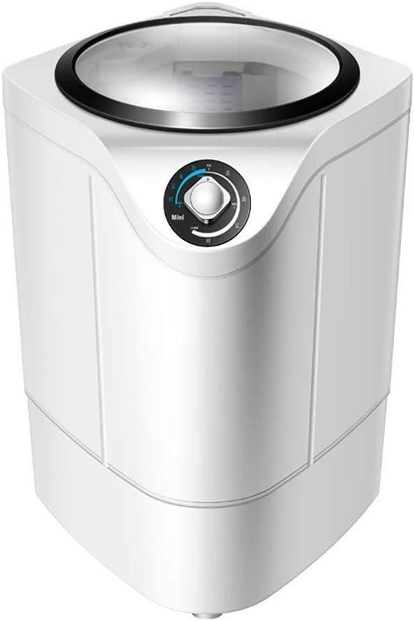 Lavadoras de ropa Lavadora Mini Lavadora Lavado máquina portátil de Carga Superior Semi-automática con Capacidad de Lavado Cesta de Drenaje