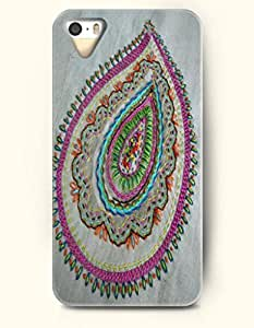 SevenArc Apple iPhone 5 5S Case Paisley Pattern ( Vintage and Delicate Paisley Print )