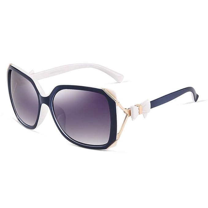 parzinkk Moda Gafas De Sol Polarizadas Cara Redonda De Mujer ...