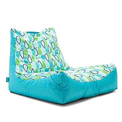 Big Joe Captainu0027s Float Cool Geo Drop Bean Bag, Multicolor