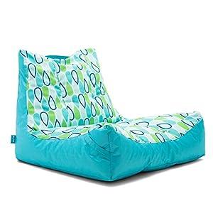 Amazon Com Big Joe Captain S Float Cool Geo Drop Bean Bag