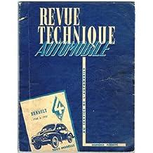 Revue Technique Automobile Réédité : Les 4CV Renault, Tous Modeles de 1948 à 1957