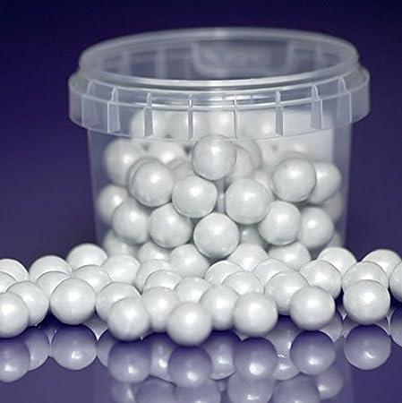 40g Pearl White Edible 40mm Large Sugar Pearls Balls For Cake Impressive Pearl Balls Decoration