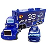 Race Car Driver Container Truck And Cars Model Toy Alloy Toys Gift Kid