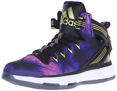 adidas shoes high tops for boys gold. adidas performance d rose 6 boost j shoe (big kid),black/purple/gold,4 m us big kid shoes high tops for boys gold o