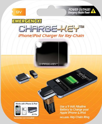 Charge-Key Emergency Charger for iPhone and iPod