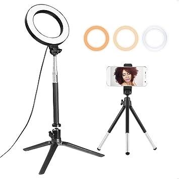 Docooler 15 2 Cm Ringleuchte Mit Ständer Und Kamera