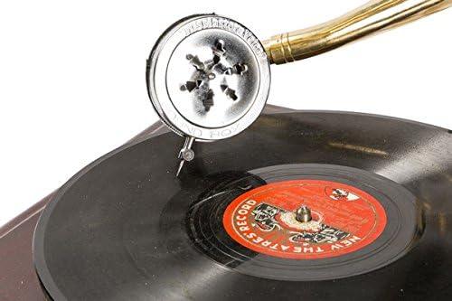Grammofono con torbellino latón HIS MASTERS VOICE reproducción ...