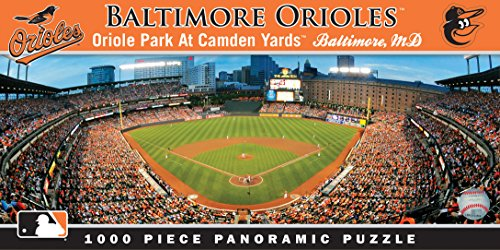MasterPieces MLB Baltimore Orioles Stadium Panoramic Jigsaw Puzzle, 1000-Piece