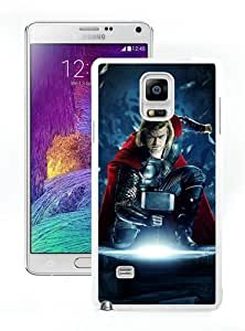 High Quality Samsung Galaxy Note 4 Case ,Cool And Fantastic Designed Case With Thor 01 White Samsung Galaxy Note 4 Cover