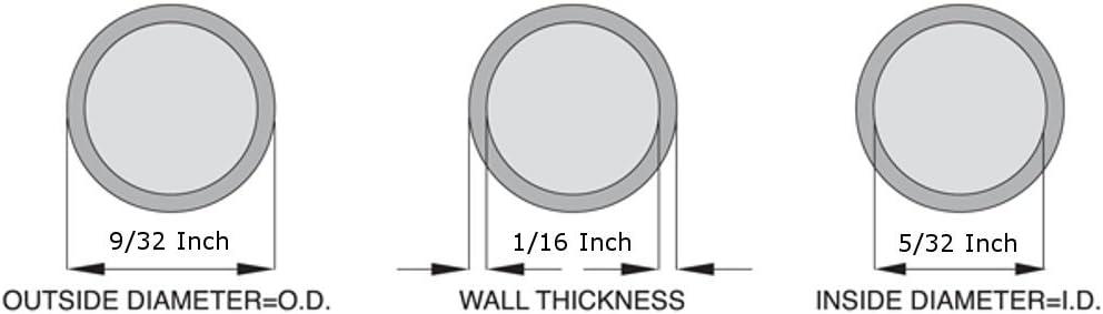 "Silicone Tubing - 100 Feet Food Grade X 9//32/"" O.D 5//32/"" I.D High Temp"