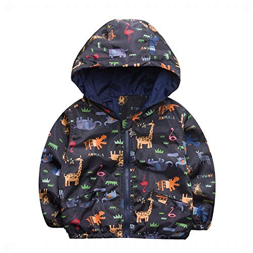 Hooded Giacca Jacket C Dimensione B Per Western Fuweiencore 120 Bambini Centimetri colore Children Doodle 1wBqqa6