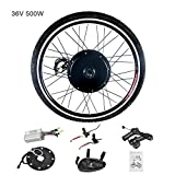 Murtisol Electric Bicycle Motor Conversion Kit-E-Bike 26' Front Wheel 36V 500W