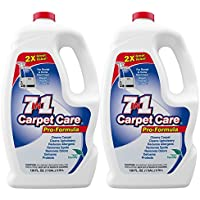 7in1 Carpet Care Pro Formula Solution-Case of two 1 gallon bottles