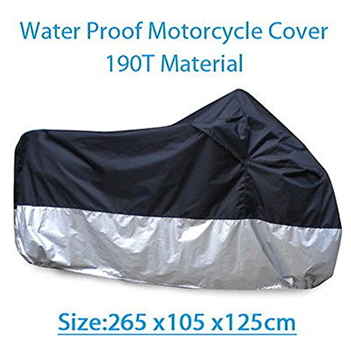 XXXL Waterproof Motorcycle Cover Street Bike For Yamaha YZF R6 R6S YZFR6 YZFR1