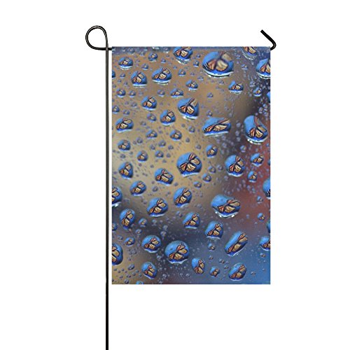 VNASKL Home Decorative Outdoor Double Sided Drops Reflection