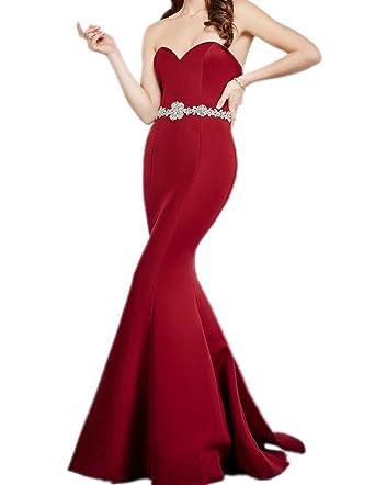 be65f036a3ca La_Marie Braut Hochwertig Herzausschnitt Meerjungfrau Abendkleider ...