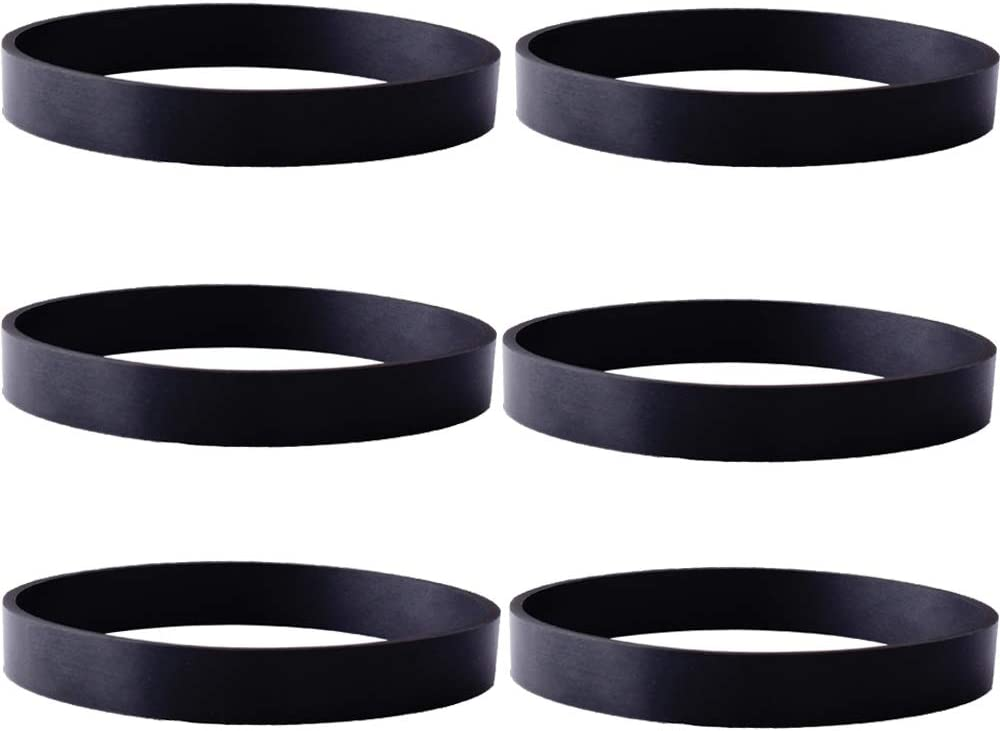 Tomkity 6 Pack Replacement Belts for Bissell Vacuum Style 7 9 10 12 14 Replace Part #3031120