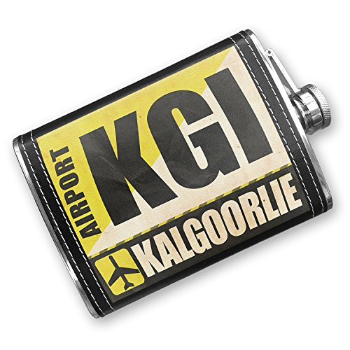 8oz-flask-stitched-airportcode-kgi-kalgoorlie-stainless-steel-neonblond