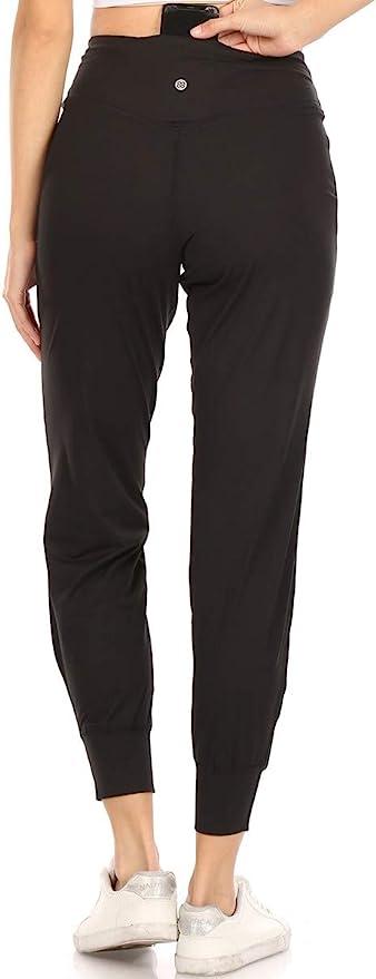 Leggings Depot Women's Printed Solid Activewear Jogger Track Cuff Sweatpants   Amazon