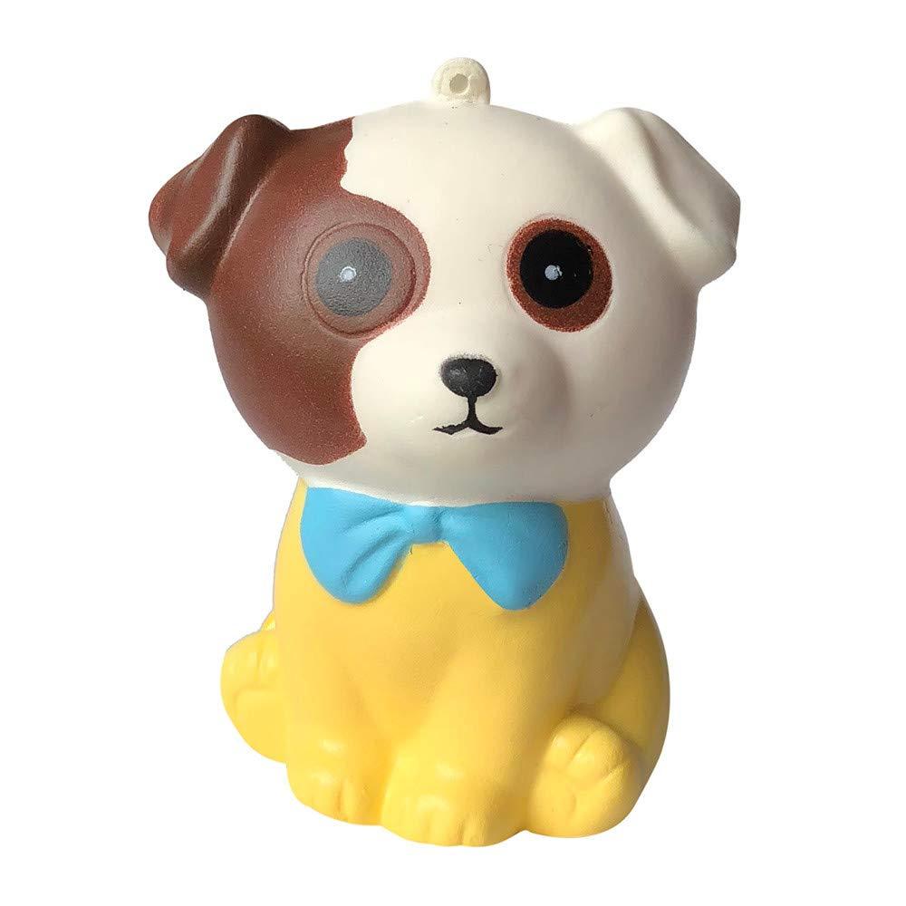 Covermason Puppy Squishy Toys Spielzeug Jumbo Cute Stress Kombination Toys angsames Aufstehen Duftend Stress abbauen Spielzeug (Weiß ) Covermason Küche Haushalt & Wohnen