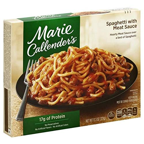 MARIE CALLENDERS DINNER SPAGHETTI WITH MEAT SAUCE 13.3 OZ PACK OF 3