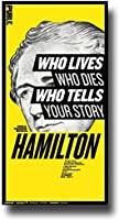 Hamilton Poster - Broadway Musical Play 10 x 17 Alexander Lin Manuel-Miranda Public by Concert Promoter