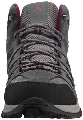 Waterproof Ti Steel Boot Raspberry Women's Mid Grey Dark Columbia Crestwood Hiking wqgptRt