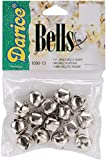 Jingle Bells Silver 0.5 Inch (4 Pack)
