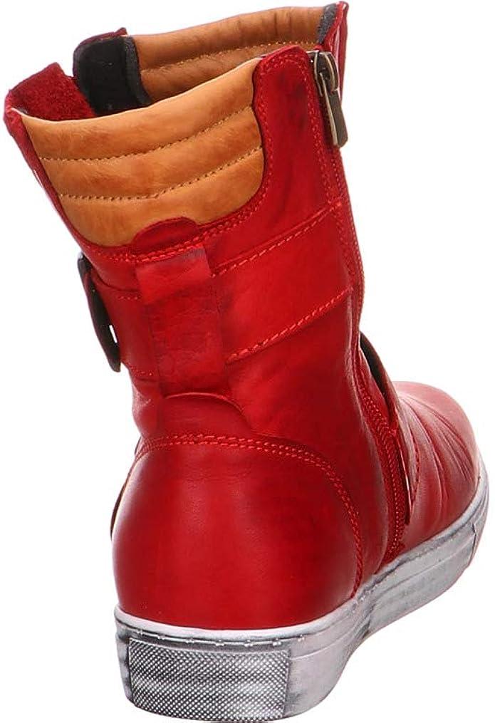 Andrea Conti 0341500 Schuhe Damen Boots Halbschuhe Sneaker High Top, Schuhgröße:39 EU, Farbe:Blau