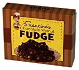 McJak Candy Company Francine's Chocolate Walnut Fudge, 8 Ounce (Pack of 24)