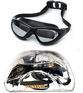 60e1500818 Buy Viva Sports Viva-130 Swimming Goggles (Black Yellow) Online at ...