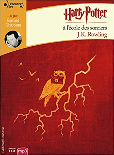 Harry Potter A L Ecole Des Sorciers Livre Audio French