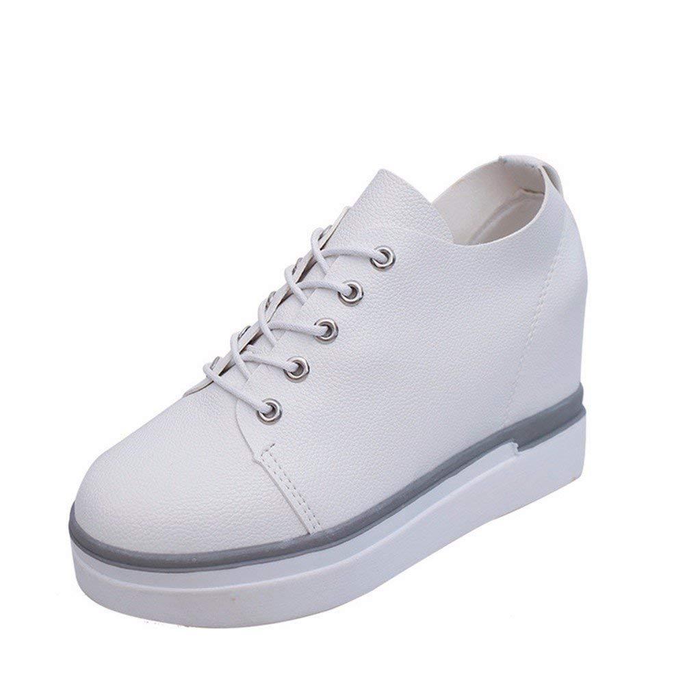 SED Ladies Shoes Cross Straps Chunky Scarpe da allenamento fitness,36 Eu,bianca 36 Eu