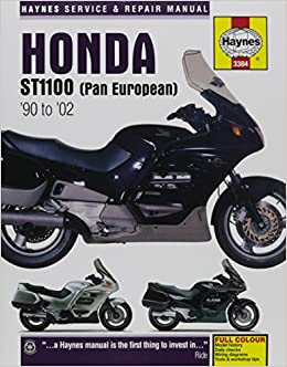 """""TXT"""" Honda ST1100 (Pan European) '90 To '02 (Haynes Service & Repair Manual). Train acelera cubicos special offer share escucha"