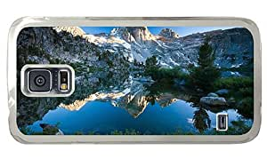 Hipster Samsung Galaxy S5 Case grove mountain lake scenery PC Transparent for Samsung S5