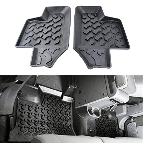 jeep wrangler floor mats 2 door - 5