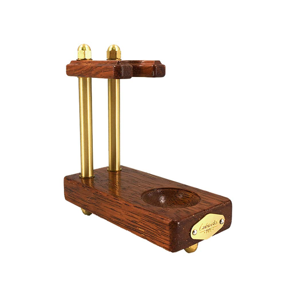 Wooden Pipe Stand Rack Holder for Tobacco Pipe by LUBINSKI