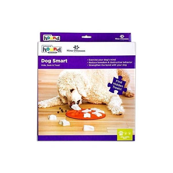 Outward Hound Nina Ottosson Dog Smart Dog Puzzle Toy Dog Game 5