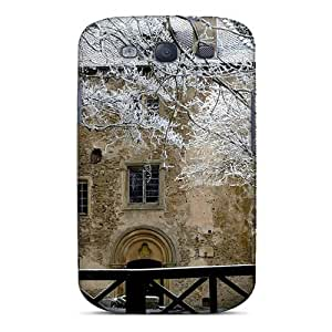 Fashionable ICXtj2027bFvwC Galaxy S3 Case Cover For House In Winter Protective Case