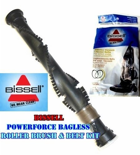 Bissell PowerForce (Turbo) Bagless Genuine Roller Brush and Belt Kit.