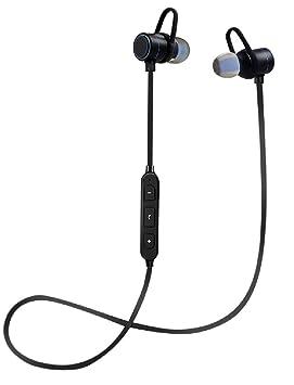 Auriculares Bluetooth Deporte inalámbrico 4.1 In-Ear magnético Largo autonomía 10 Horas IPX5 Kit Manos