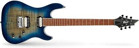 Guitarra electrica CORT KX300OPCB: Amazon.es: Instrumentos musicales