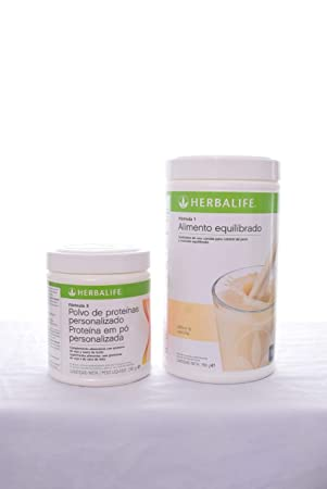 Herbalife Formula 1 Shake Mix Dutch Chocolate 500 Grams and Formula 2 Personalized Protein Powder PPP – 200 Grams Unflavored
