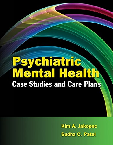 Psychiatric Mental Health Case Studies and Care Plans by Brand: Jones n Bartlett Learning