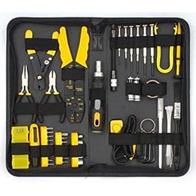 Tiny Dog 58 Piece Pc Repair Tool Kit For Handyman, Computer Tech & Electrician